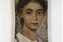 Ancient Egypt - Mummy portrait
