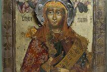 Иконы и иконопись, прориси