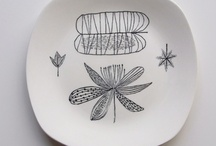 Marvellous Midwinter pottery / Midwinter pottery was at the forefront of British tableware design in the 1950's.  Jessie Tait was their most innovative and experienced designer, but the did invite other designers to create decorative designs too such as Conran.