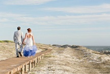 Rachad & Genevieve Wedding / I absolutely loved planning this wedding. Rachad & Genevieve are the two most amazing people. With Yzerfontein as the backdrop, we were inspired with earthy colours, complimented by indigo blue, driftwood, sand and white.