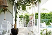 Outdoor Space / Great outdoor living rooms, patios, dining, and landscapes