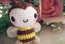 amigurimi abeille