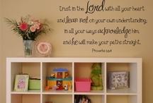Hope, love and faith!