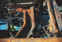 CPM's Photos of a Burnt Out Car