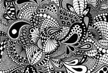 Tangle  - Random / Zentange Inspirations - Random