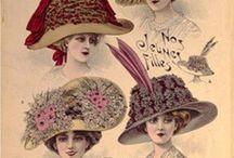 Belle touche d'élégance des chapeaux.