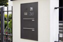 Mauerdurchwurf/Briefkasten