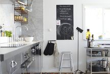 kitchen design / kücheninspirationen / Retrochic & Industrie chic meets kitsch