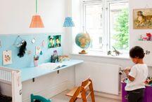 Skrivebord, børneværelse