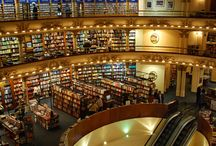 BOOK STORES, LIBRARIES