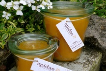 Weck Marmalade - Candles / Who can resist the clean lines of a Weck jar? Add beeswax and you have a beautiful apidae marmalade candle. Customers from the USA can now purchase apidae candles at www.etsy.com/de/shop/apidaecandles