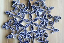 modele quilling flocon