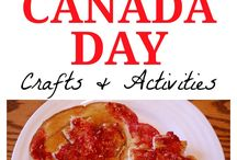 Daycare : Canada / Acadien day