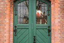 Front Door Colors / by Ashley Jordan