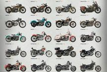 motorbikes and choppers