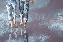 Peinture acrylique / Louise