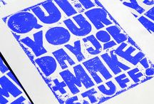 typography and letterpress / by Turning Leaf Crafts /Laura Locke