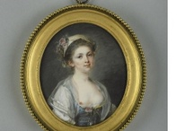 1750-1799 Century Female Portraits and Genres