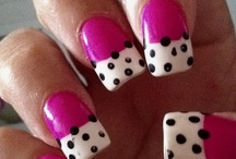 Pink Nails For The Pink Chick's Wishlist / Always getting my nails done in pink, fun and funky designs. I welcome new ideas to show my nail girl. / by Pink Chick Psychic Linda Kaye