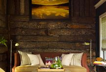 SHOP THE ROOM: Rustic Log Sunroom / Shop this room with Sedgwick & Brattle