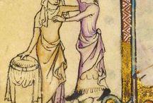 arbetande kvinna medeltid
