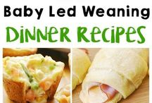 Baby Led Weaning / Baby led weaning ideas from first foods to toddler friendly food. Recipes for breakfast, lunch, dinner and snacks.