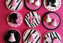barbie cupcake