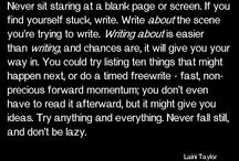 Skriving / Hjelp med å skrive