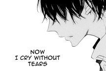 Sad manga...