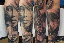 Tattoo-Twarz