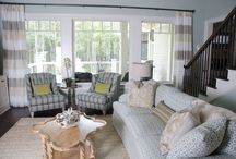 Murrells Inlet Home / Lowcountry Chic is a term coined by CHD Interiors to describe a style of design that fits the lifestyle of the people who live in the coastal region of North and South Carolina. Lowcountry Chic blends many styles, patterns and design materials to create a comfortable, relaxed space that looks like it has evolved over the years, rather than having been acquired all at once.