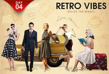 Retro Vibes - ShopClues Fashion Week Day 4 / Relive the Vintage Sensation with the Evergreen Collection of Retro Fashion at Best Prices - Exclusively at ShopClues  Fashion Week!!