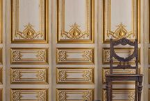 Vintage French Panels / Celebrating the beauty of French Historic Palaces -  Deocrative details captured and edited for modern Interiors.....Enjoy