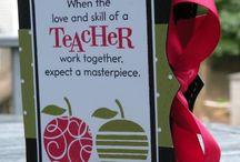School + Teacher Crafts & Projects