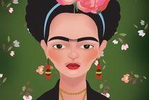 Frida, Calaveras y Viva México