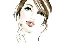 Faces illustration