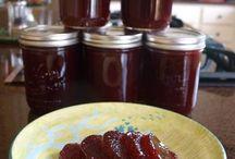 Cranberry sauce, ....