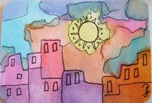 When I learn to watercolor... / by Patty Carlson