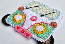 Crochet applique