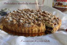 Dolci / Torte, crostate, muffin e dolcetti.