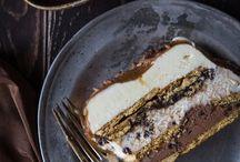 Dessert og kaker