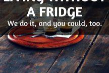 Vivere senza Frigo / trucchi per vivere senza frigorifero