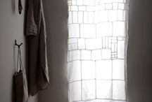 window covering Ideas / Need to figure out how to let lots of light in, but to also maintain privacy along a busy pathway in my apt building.