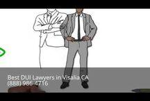 DUI Attorney Visalia