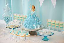 Frozen / inspiratie Sweet table Frozen
