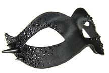 Crystal & Stud Masks / Venetian Masks with Strass and Stud