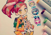Copic drawings