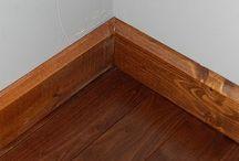 Dřevo - podlahy, stropy, chodníky