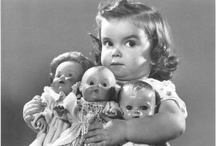 girls with their dolls / by Carla Brown