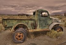 Abandoned / Things left to rust or decay. Second Law of Thermodynamics: Entropy.